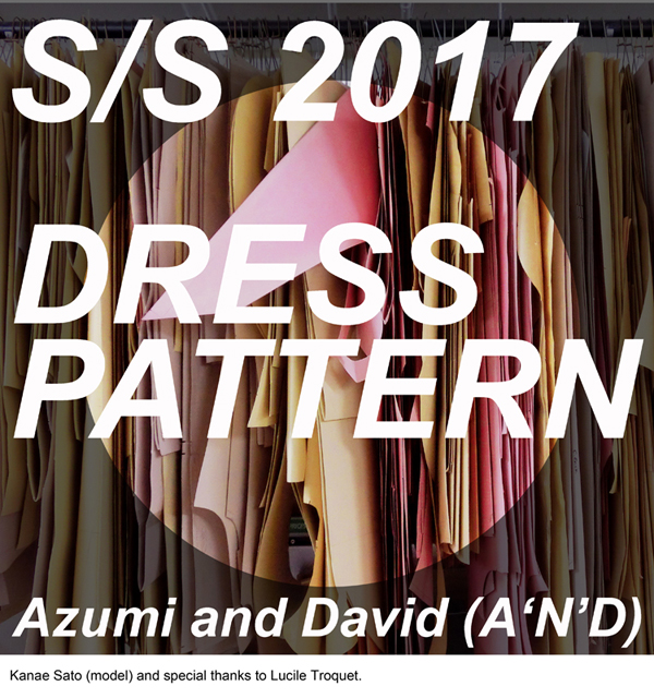 Dress Pattern by Azumi and David - spring/summer 2017