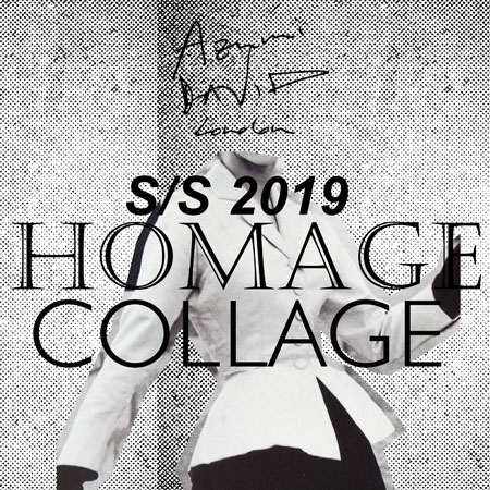 Homage Collage by Azumi and David - spring/summer 2019