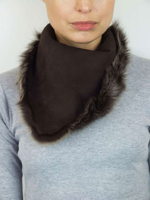 Neck Wrap - Sheep Skin