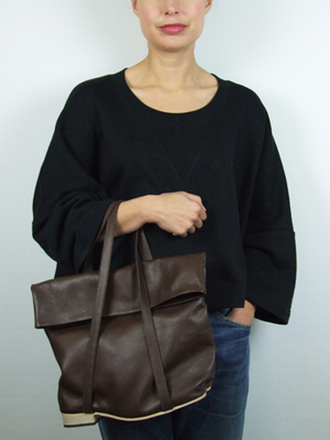 Flat Heel Fold Top Hand Bag