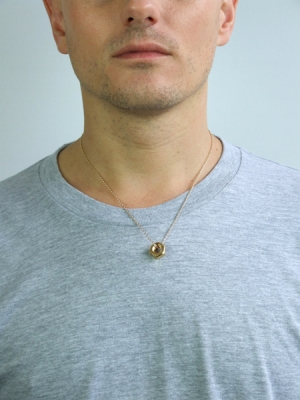 Nut Pendant - Gold