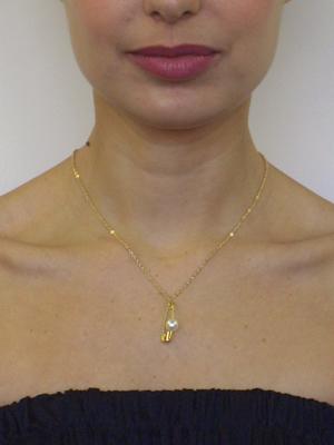 Neck Pin Pearl - Jewellery - Neck Pin Pearl (silver-plated) - Azumi ...  Neck