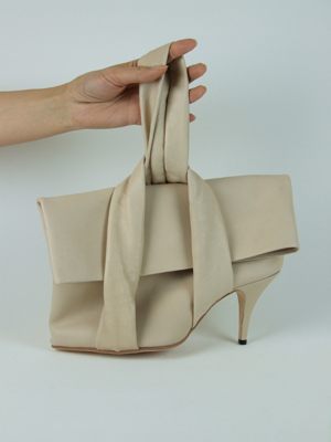 Loop Handle Heel Bag
