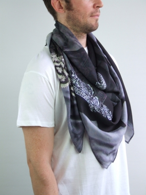 Clothing Pile Scarf - georgette
