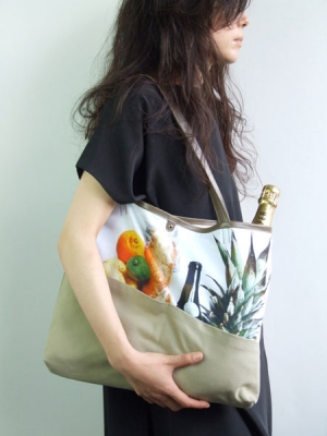 Still Life Shopper Bag - Grocery