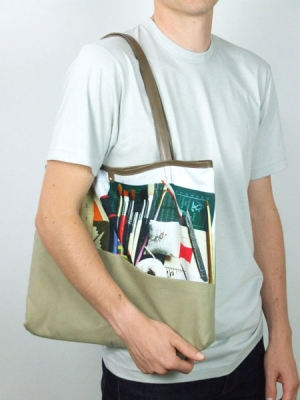 Still Life Shopper Bag - Art Student