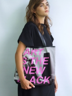 Statement Shopper Bag - Art Is The New Black