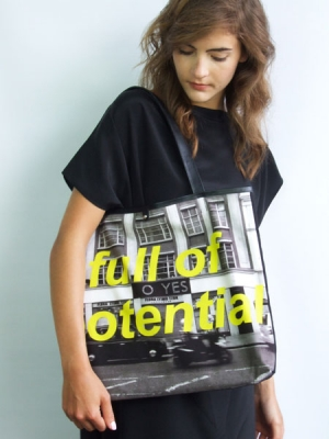 Statement Shopper Bag - Full of Potential