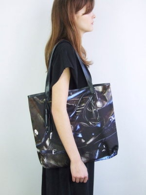 Rags to Riches Shopper - Black