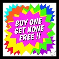 Buy one get none free scarf - Other Image