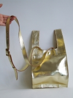Supermarket Carrier Bag, small (gold) - Other Image