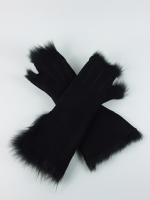 Wrist Mitt (Long), black - Other Image