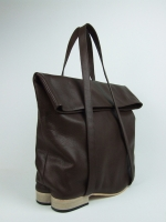 Flat Heel Fold Top Hand Bag - Other Image