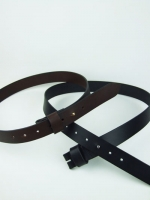 No Buckle Belt (Black) - Other Image