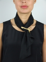 Coat-Hanger Scarf (black)