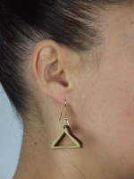 Mini Coat-hanger Earrings