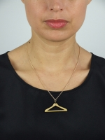 Mini Coat-Hanger Necklace - Other Image