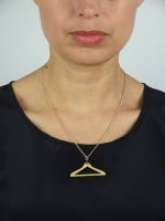 Mini Coat-Hanger Necklace