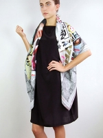 Street Style Scarf (square)