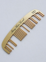 Messy Hair Comb (Gold)