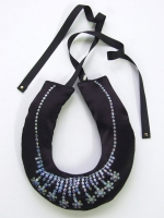 Puffa Necklace (Diamante) - Other Image