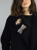 Puffa Brooch (Bow) - Other Image