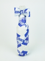 HAPPY BIRTHDAY packing tape (blue/white) - Other Image