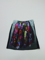 Little Black Skirt Knee - flowers - Other Image