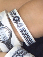 Body Tape - Chain Bracelet (25mm wide)