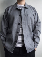 Minimalist Workwear Jacket (colour: brain cell grey)