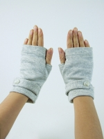 Sweat Glove Jacket (black or grey)
