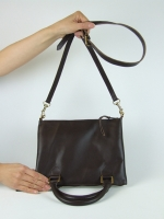 Downside Up Bag, brown (small) - Other Image