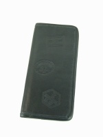 Worldwide Visa, passport/ticket wallet, black