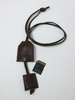 Secret SD Card Necklace