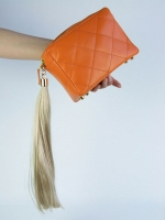 Hair Tassel Clutch Bag - Other Image
