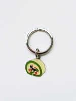 Lanka Green Tea Roll Cake Keyring