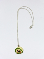 Lanka Green Tea Roll Cake Pendant - Other Image