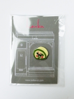 Lanka Green Tea Roll Cake Brooch - Other Image