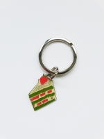 Lanka Green Tea Strawberry Cake Keyring