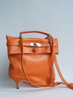 Heel Kelly Bag, Orange