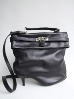 Heel Kelly Bag, Black