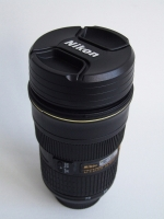 Nikon 24-70mm Zoomable Thermos Lens Mug