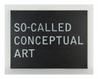 So-Called Conceptual Art