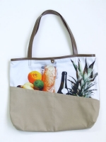 Still Life Shopper Bag - Grocery - Other Image