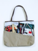 Still Life Shopper Bag - Art Student - Other Image