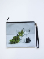 Still Life Clutch Bag - Grapes