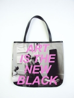Statement Shopper Bag - Art Is The New Black - Other Image