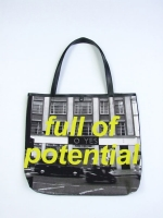 Statement Shopper Bag - Full of Potential - Other Image