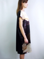 Rags to Riches Dress - Sheepskin - Other Image