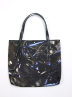 Rags to Riches Shopper - Black - Other Image